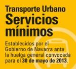 SERVICIOS MINIMOS para la Huelga del 30 de mayo